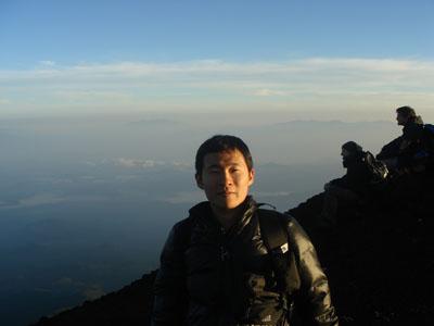 No topo do Monte Fuji - Fernando Hidemi Uchiyama